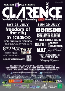 clarence2012poster